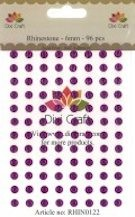 Dixi Craft - Rhinestones - 6mm: Purple - RHIN0122
