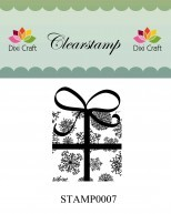 Dixi Craft - Clearstamp - Christmas present - STAMP0007
