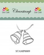 Dixi Craft - Clearstamp - Bells - STAMP0009