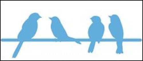 Marianne Design - Die - CreaTables - Birds on a wire - LR0290