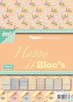 Joy! crafts - Paperpack - Happy Sweet - Engelse drop