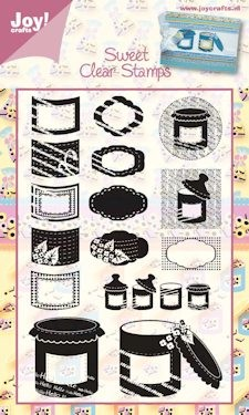 Joy! crafts - Clearstamp - Sweet - 6410/0085