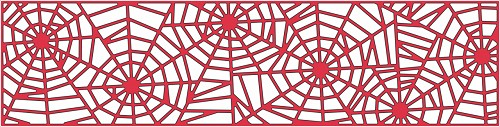 Cheery Lynn Design - Die - Spider Web Mesh Border - B322