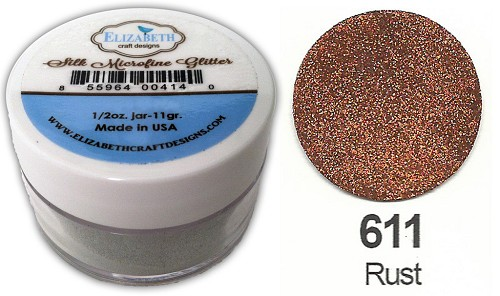 Elizabeth Craft Design - Silk Microfine Glitter: Rust - 611