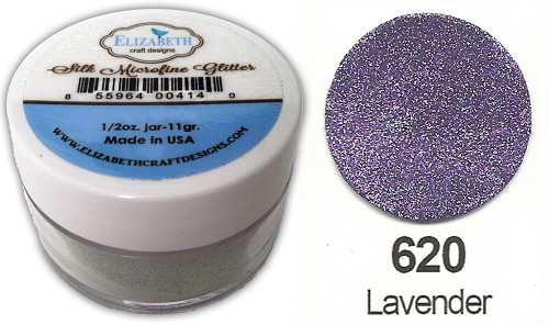 Elizabeth Craft Design - Silk Microfine Glitter: Lavender - 620