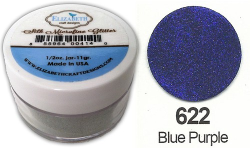 Elizabeth Craft Design - Silk Microfine Glitter: Blue Purple - 622