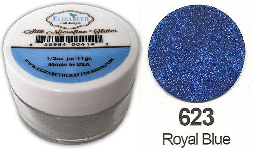 Elizabeth Craft Design - Silk Microfine Glitter: Royal Blue - 623
