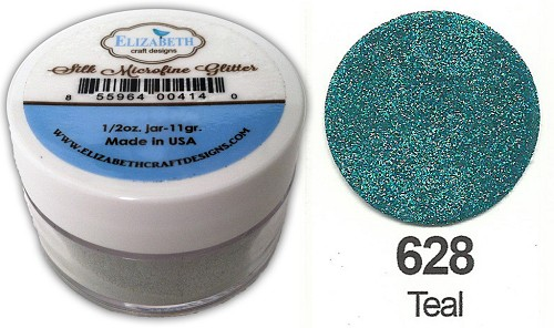 Elizabeth Craft Design - Silk Microfine Glitter: Teal - 628