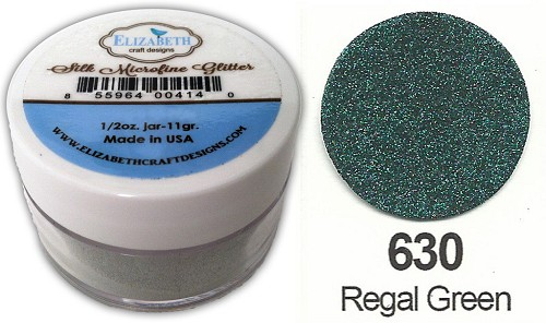 Elizabeth Craft Design - Silk Microfine Glitter: Regal Green - 630