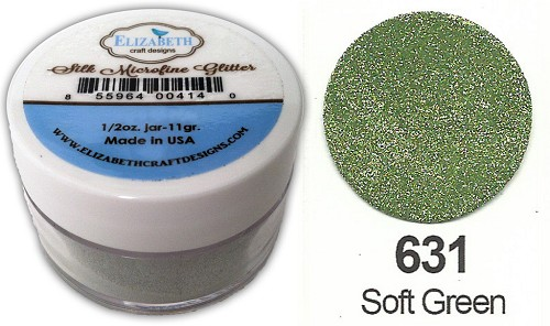 Elizabeth Craft Design - Silk Microfine Glitter: Soft Green - 631