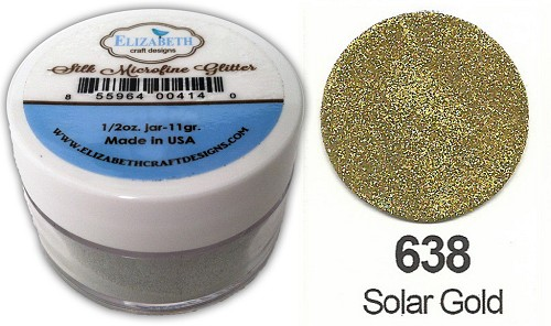 Elizabeth Craft Design - Silk Microfine Glitter: Solar Gold - 638