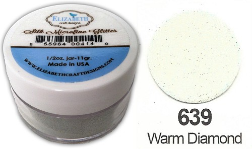 Elizabeth Craft Design - Silk Microfine Glitter: Warm Diamond - 639