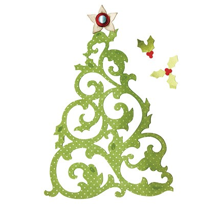 Sizzix - Die - Thinlits - Christmas Tree
