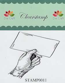 Dixi Craft - Clearstamp - Brief - STAMP0011