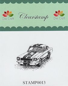 Dixi Craft - Clearstamp - Auto - STAMP0013
