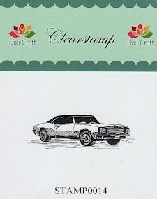 Dixi Craft - Clearstamp - Auto - STAMP0014