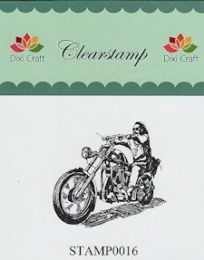 Dixi Craft - Clearstamp - Motor - STAMP0016