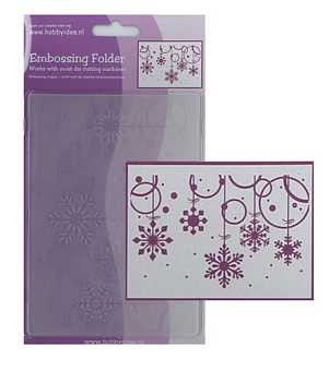 Centralcraftcollections - Embossingfolder - Kerst - CCC-4072