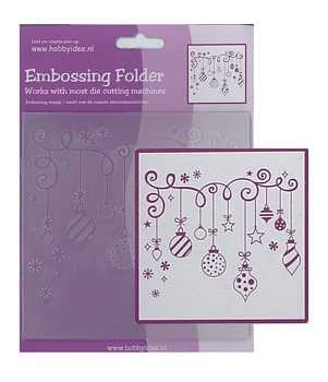 Centralcraftcollections - Embossingfolder - Kerst - CCC-4078
