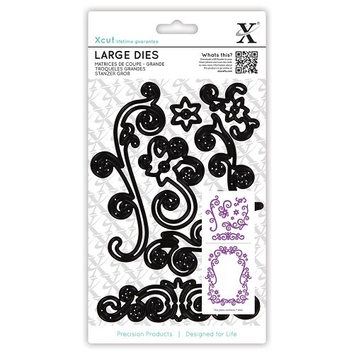 Docrafts - Xcut - Large Die - Floral Flourishes
