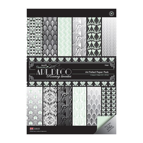 Papermania - Paperpack - Art Deco Roaring twenties - PMA160160