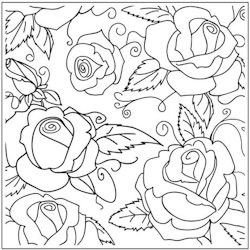 Crafts-Too - Embossingfolder - Roses - CTFD3107