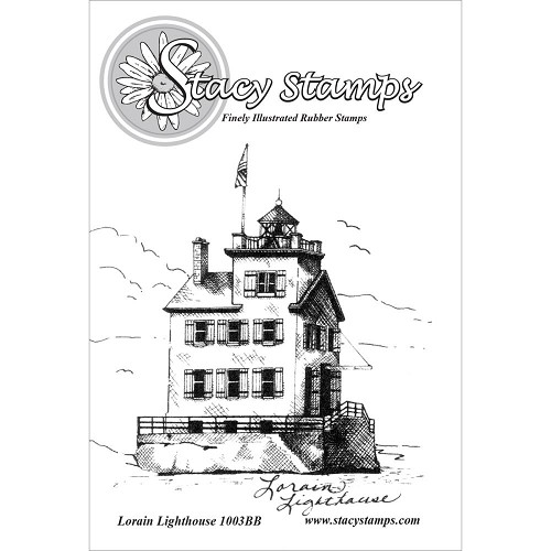 Stacy Stamps - Cling stamp - Lorain Lighthouse - 1003BB