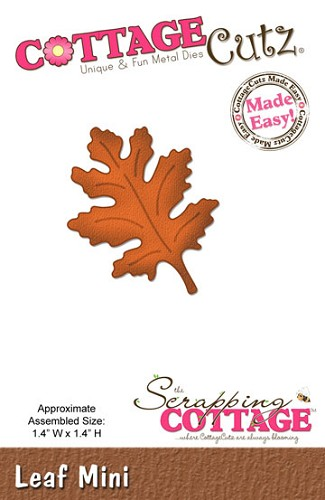 Cottage Cutz - Die - Leaf Mini - CC-MINI-144