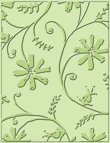 Provocraft - Embossingfolder - Stylized flowers - 37-1232