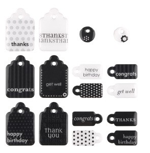 Making Memories - Embellishment - Double-sided Sweets - Tags - 28663
