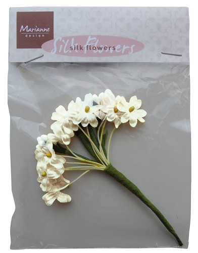 Marianne Design - Silk Flowers: off-white - JU0920
