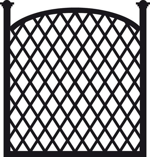Marianne Design - Die - Craftables - Trellis panel - CR1263
