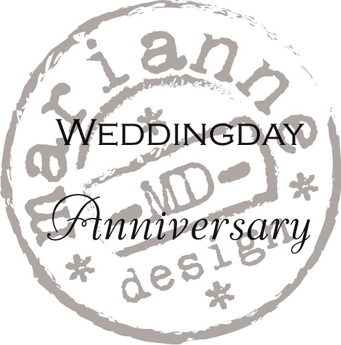 Marianne Design - Clearstamp - Weddingday / Anniversary (ENG) - CS0886