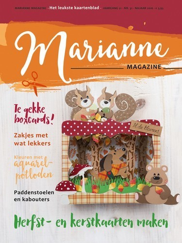 Marianne Design - Marianne Doe - Magazine No. 21 - DOE21