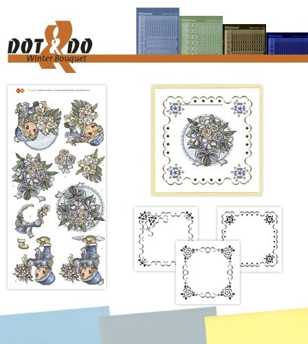 Card Deco - Kaartenpakketten - Dot & Do - No. 25 - Winter Bouquet - DODO025