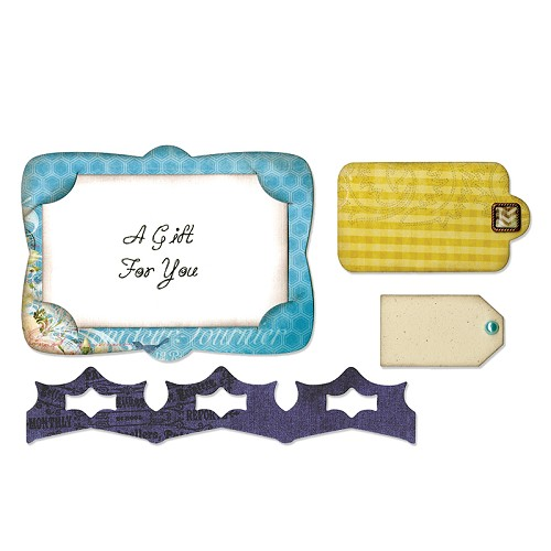 Sizzix - Die - Framelits - Gift Card Holder