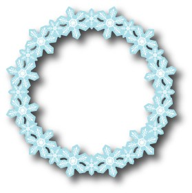 Memory box - Die - Flurry Wreath