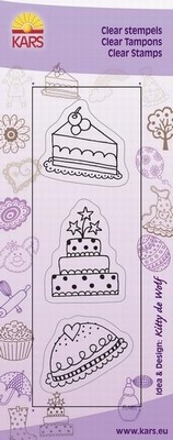 Kars - Clearstamp - Cake 2 - 180013/0532
