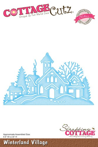 Cottage Cutz - Die - Winterland Village (Elites) - CCE-054