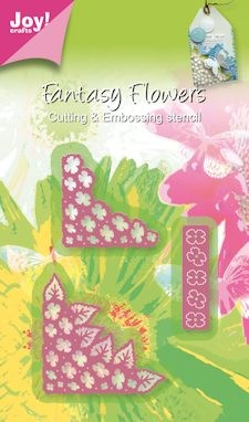Joy! crafts - Die - Fantasy Flowers - Hoek