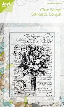 Joy! crafts - Noor! Design - Clearstamp - Silhouet Bouquet - 6410/0046