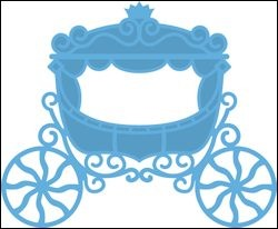 Marianne Design - Die - CreaTables - Princess carriage - LR0302