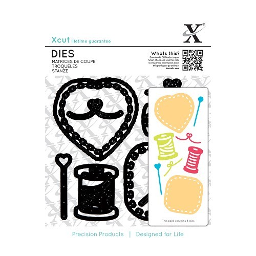 Docrafts - Xcut - Die - Sewing patches