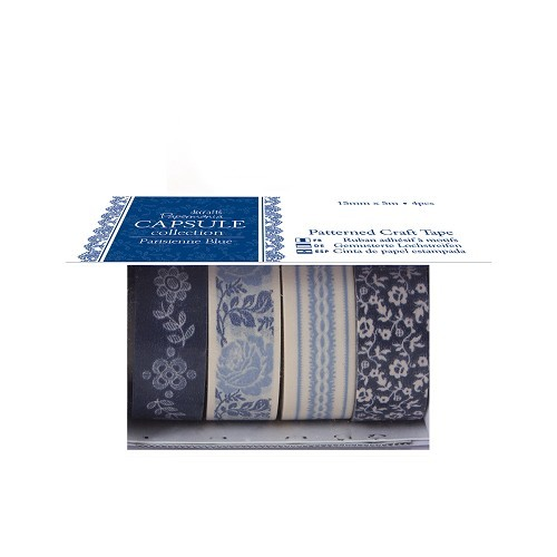 Papermania - Craft Tape - Capsule Collection: Parisienne blue - PMA462206