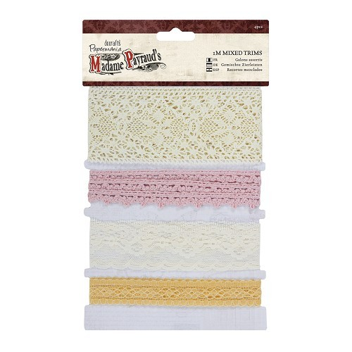 Papermania - Ribbon - Madame Payraud - Mixed Trims - PMA358331