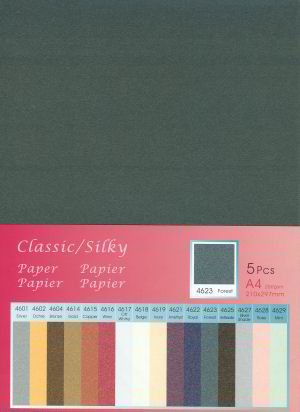 Hobby & Crafting Fun - Classic / Silky  Karton: Forest - 12046-4623