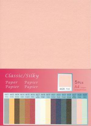 Hobby & Crafting Fun - Classic / Silky  Karton: Rose - 12046-4628