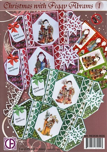 Creatief Art - Kaartenpakket - Christmas with Peggy Abrams - RE2530-0035