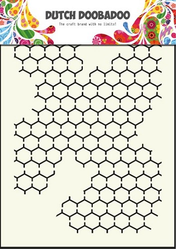 Dutch Doobadoo - Maskingstencil - Chicken wire - 470.715.001