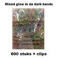 Loom 600 elastiekjes: Glow in the dark